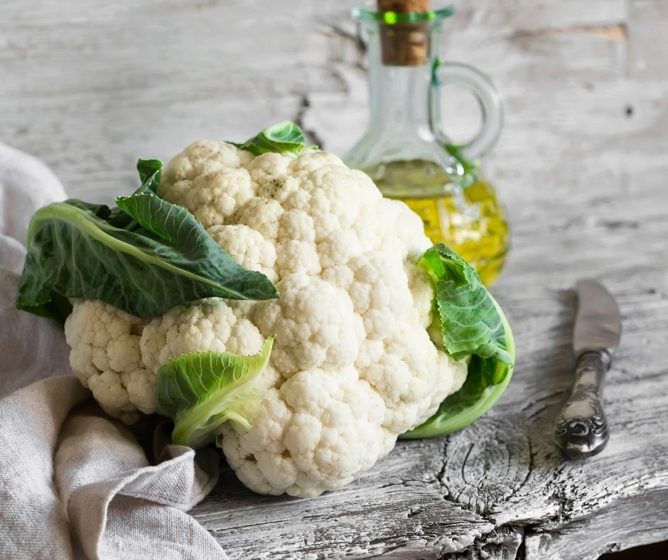 Cauliflower with Olive Oil