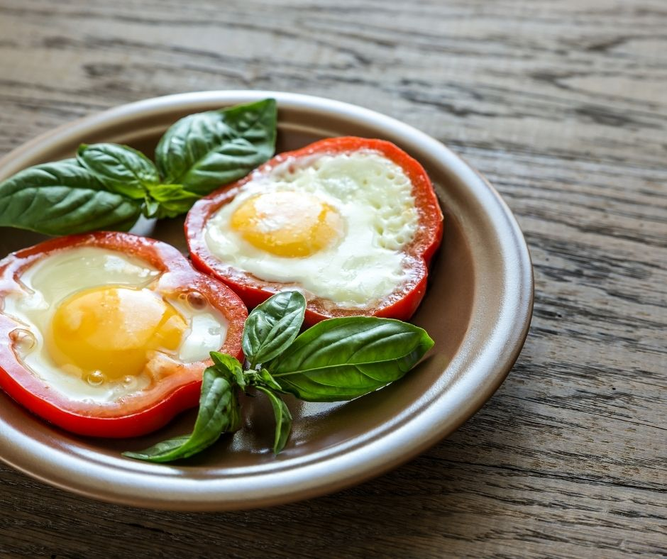 Eggs with Bell Peppers