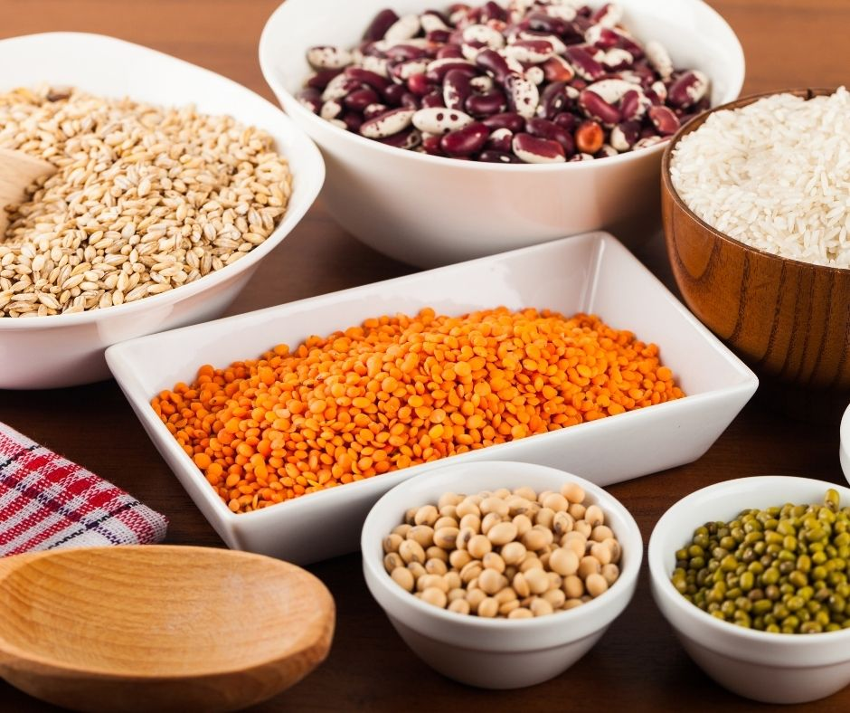 Carbohydrates with Nuts, Legumes and Seeds
