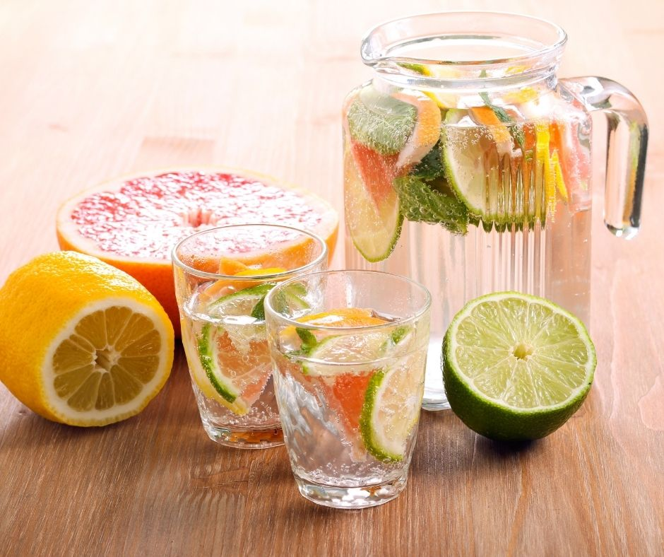 Water with Citrus Fruit